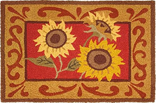 rug provence sunflowers