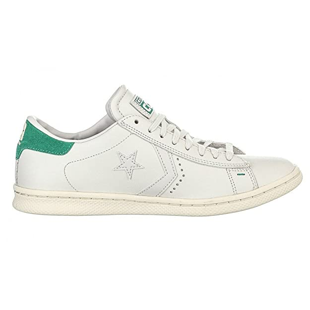 Converse Pro Leather LP Ox, Sneakers Homme, Blanc (White Dust/Dress Blue/Snow Whi), 36.5 EU