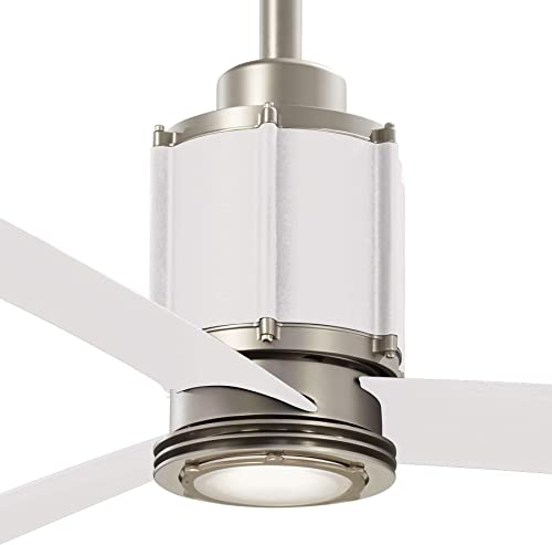 Minka-Aire F736L-BS/WHF Gear 54 Inch Ceiling Fan