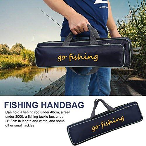 FRHP Angeltasche Tragbare Outdoor Angelger/äte Taschen Angeltasche 1,3 M Angeln Hartschale Wasserdicht Gro/ße Kapazit/ät Sea Pole Bag Angelausr/üstung Tasche