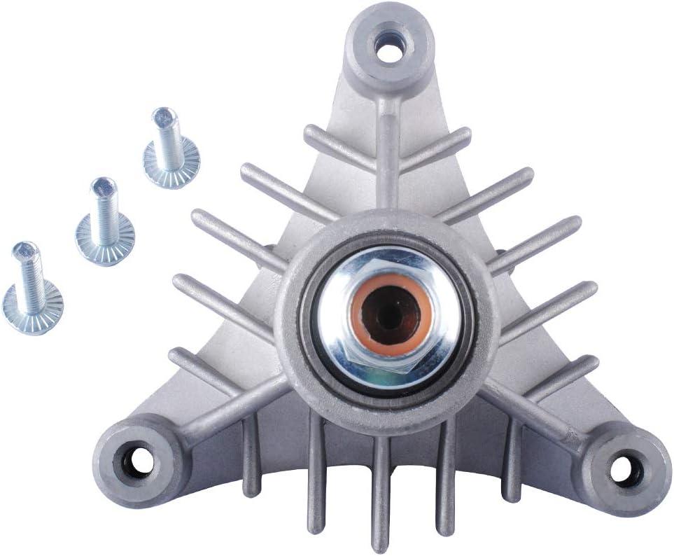 143651 Spindle Assembly for Craftsman Mower AYP 44 46 50 Deck Replace Husqvarna 532143651 Oregon 82-510 137553 137152