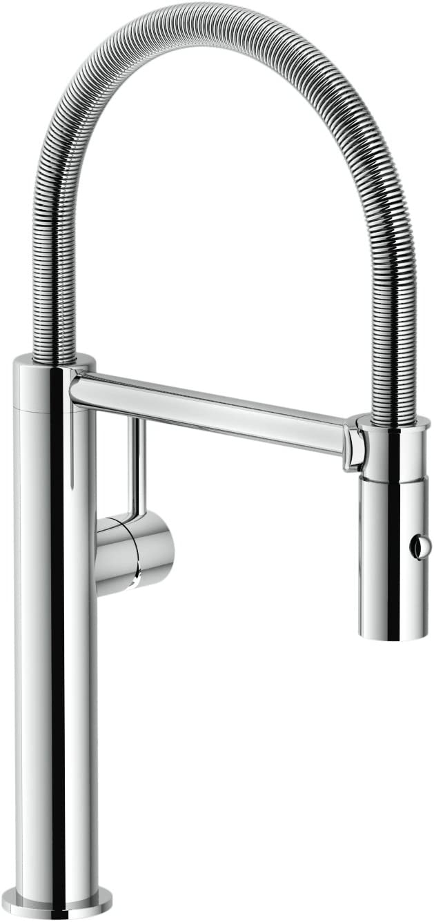 Franke FFPD4400 Pescara Single Handle Pull, 16.5 inch Ultra-Tall high arc Kitchen Faucet, Polished Chrome