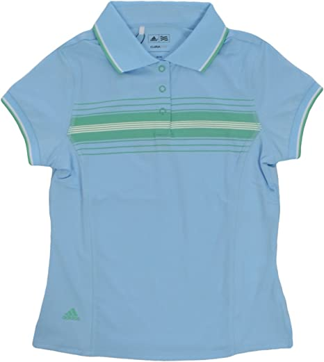 adidas Performance - Polo Niña - Golf - Azul Claro - M: Amazon.es ...