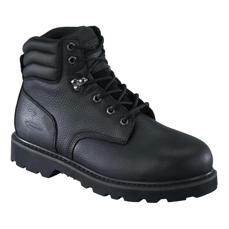 Knapp Men's 6'' Steel Toe Leather, Rubber Work Boots