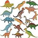 子供のための教育用プラスチック盛り合わせの恐竜のおもちゃフィギュア - 16パック、#09