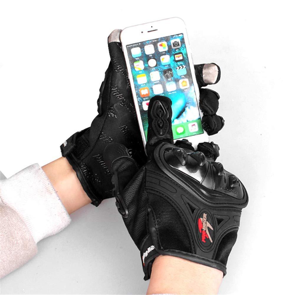 vert, XL BaronHong Knuckle Gants pour /écran tactile moto Powersports Racing Tactical