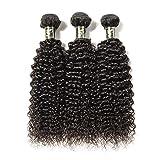 Aosun Hair Unprocessed Brazilian Curly Virgin Hair Weave 3...