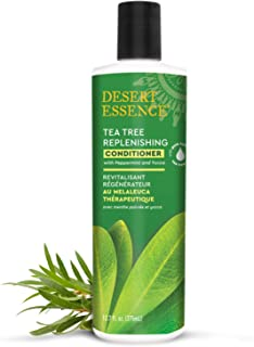 product image for Desert Essence Tea Tree Replenishing Conditioner - 12.7 Fl Oz - Peppermint & Yucca - Eucalyptus Oil - Vitamin E - Keratin - Murumuru Butter For Dull, Damaged Hair - Reduces Hair Breakage & Flaking