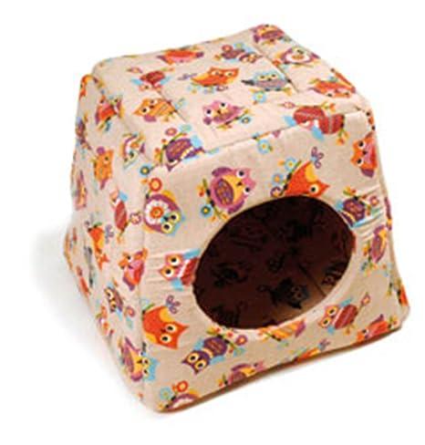 Record Caseta Igloo desmontable doble uso plegable para perros y gatos cálida y suave