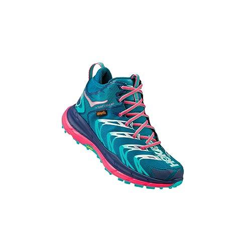 Hoka One - Zapatillas de Running de sintético, Tela para Mujer Azul Azul: Amazon.es: Zapatos y complementos