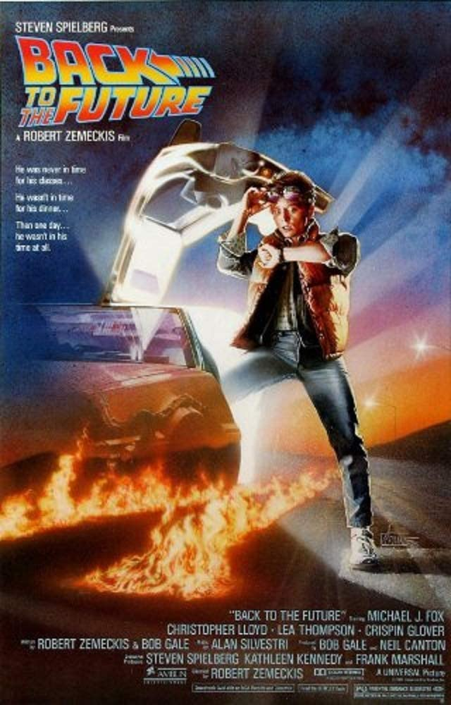 Picture Peddler Laminated Back to The Future Movie Poster 24x36 Inch