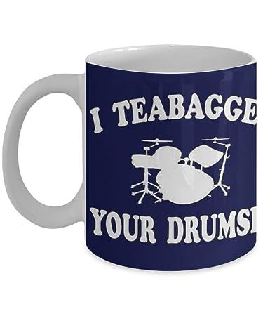 Amazon Com I Teabagged Your Drumset Step Brothers Coffee Mug