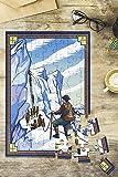 Ice Climbers (8x12 Premium Acrylic Puzzle, 63 Pieces)