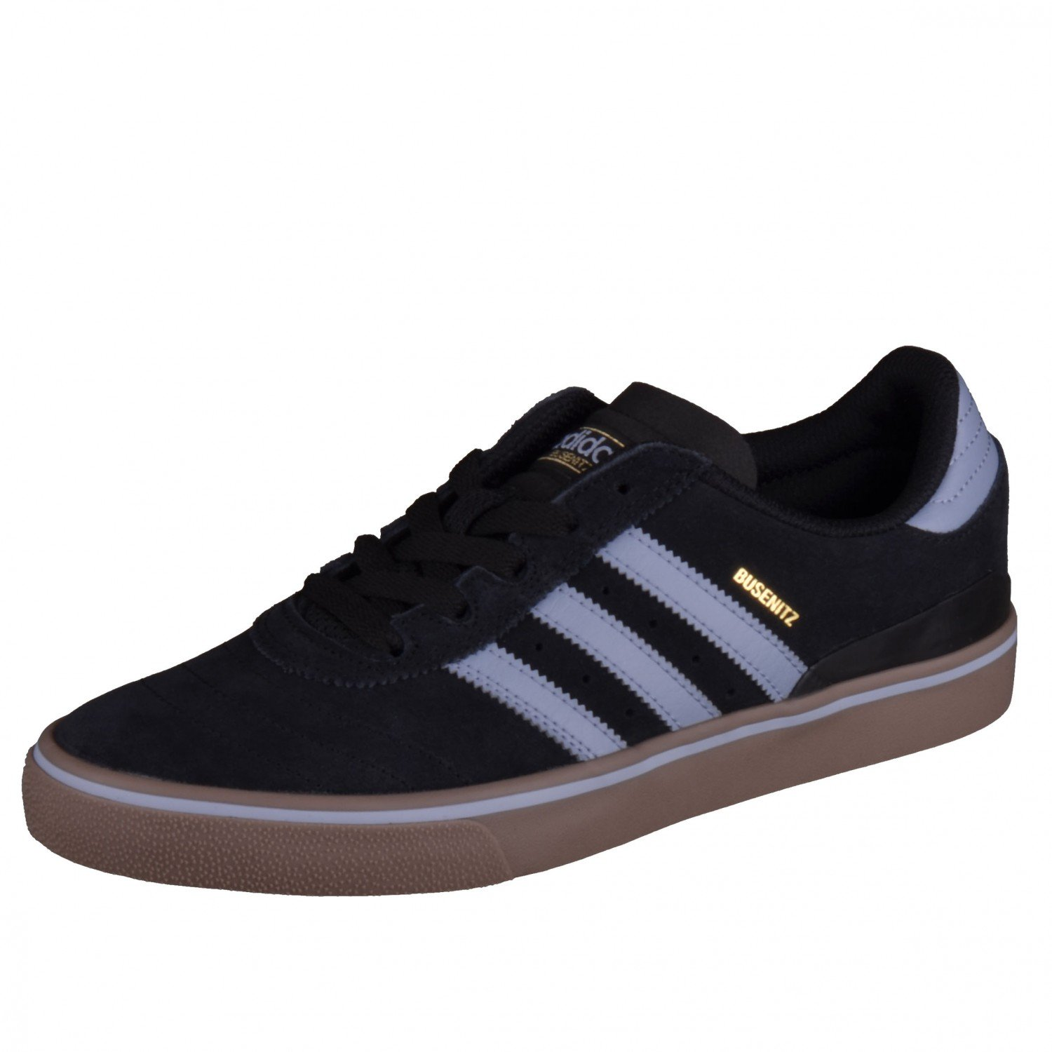 Adidas Skateboarding Busenitz ADV Core Black Tactile Blue Gum Skate Shoes