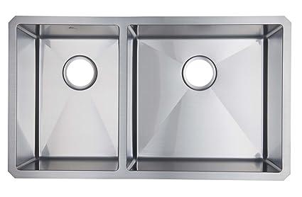 Starstar 40 60 Double Bowl Undermount Kitchen Sink 16 Gauge 304 Stainless Steel