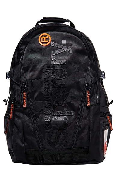 J Camo Backpack Zaino Tarp UomoNeroblack Superdry bfY6yv7gI