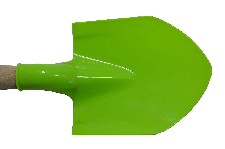 Innesti con Viti per Una Maggiore Robustezza 40 cm Lunghezza Opengardenweb Pala per Bambini Giardino Sabbia Mare Giocattolo in Plastica con Manico in Legno