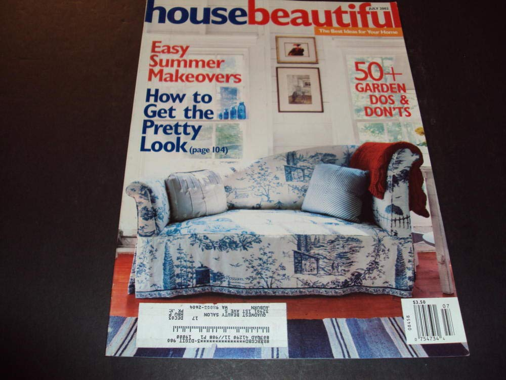 House Beautiful Jul 2002 50+ Garden Dos and Donts at ...