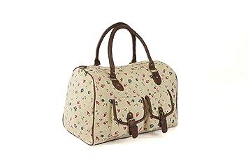 New Womens Weekend Bag Ladies Stylish Hand Luggage Travel ...