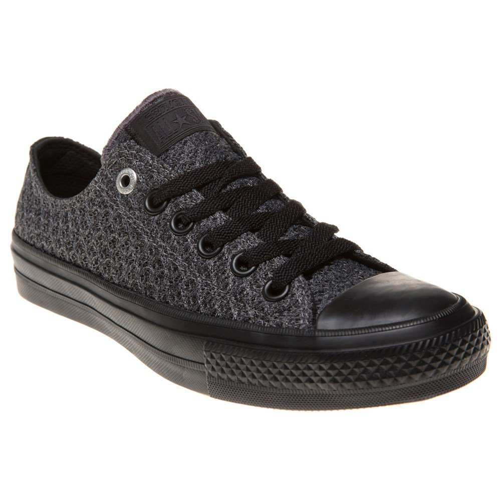 Converse Chuck Taylor All Star Ii Low Womens Sneakers Grey B07DMZP61P 7.5 Mens / 9.5 Womens|Thunder/Black