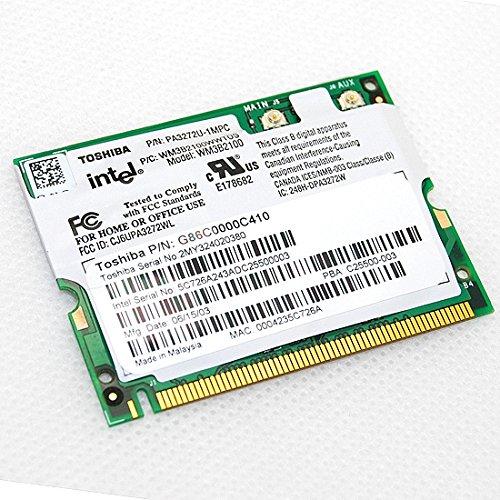 Gateway 9300 Solo Notebooks Series - New Intel 2100 BG WiFi Wireless LAN Mini-PCI Adapter Card Intel WM3B2100 IEEE 802.11b/g DW2100