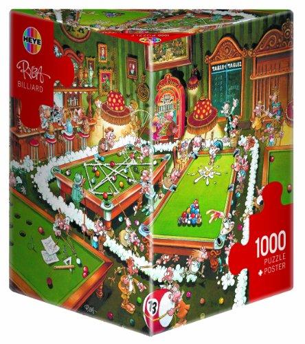 Heye Billiard 1000 Piece Michael Ryba Jigsaw Puzzle