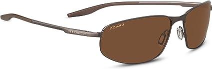 Serengeti Matera Large Sunglasses Satin Black Unisex-Adult Large