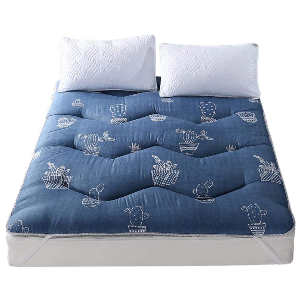 Washable Folding Anti-Slip Mattress Pad Floor Sleeping Mat Tatami Bedroom Dormitory for Bedding Accessories(120200CM) by Fdit