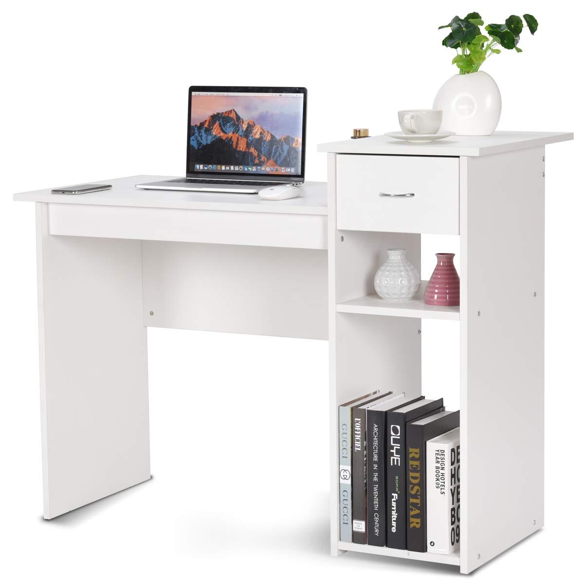 Amazon.com: TANGKULA - Juego de mesa de madera para ...