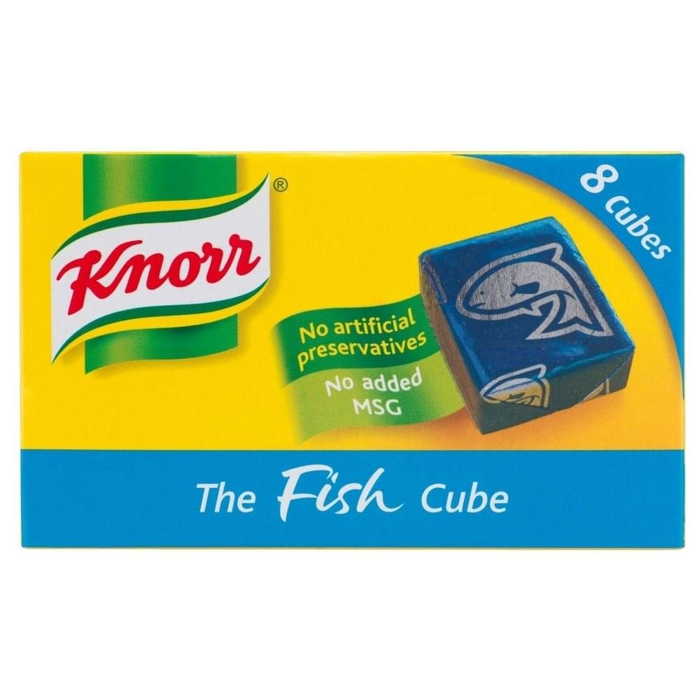 Knorr Stock Cubes Fish (8x10g) - Pack of 6
