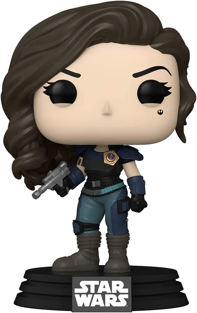 Cara Dune from The Mandalorian, now back in chibi action.