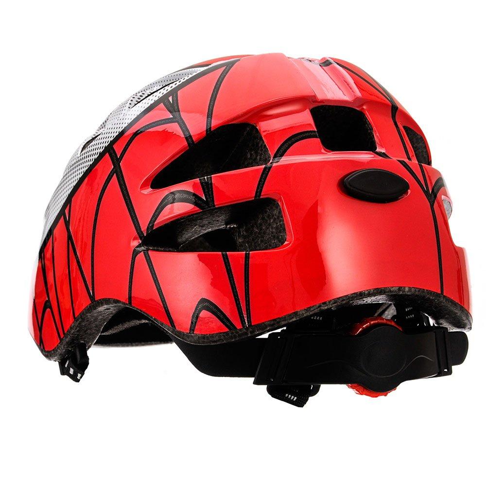 meteor/® Kinderfahrradhelm Sicherer Fahrradhelm Kinder-Helm rollerhelm m/ädchen kinderfahrradhelm f/ür Mountainbike Inliner skaterhelm BMX fahradhelm Scooter Jungen Bike Helmet