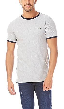 7d2a6fadd50e Mens Le Shark T-Shirt Tee Crew neck Designer Fit Short Sleeve Cotton Top  KEPPEL Men's Clothing Shirts