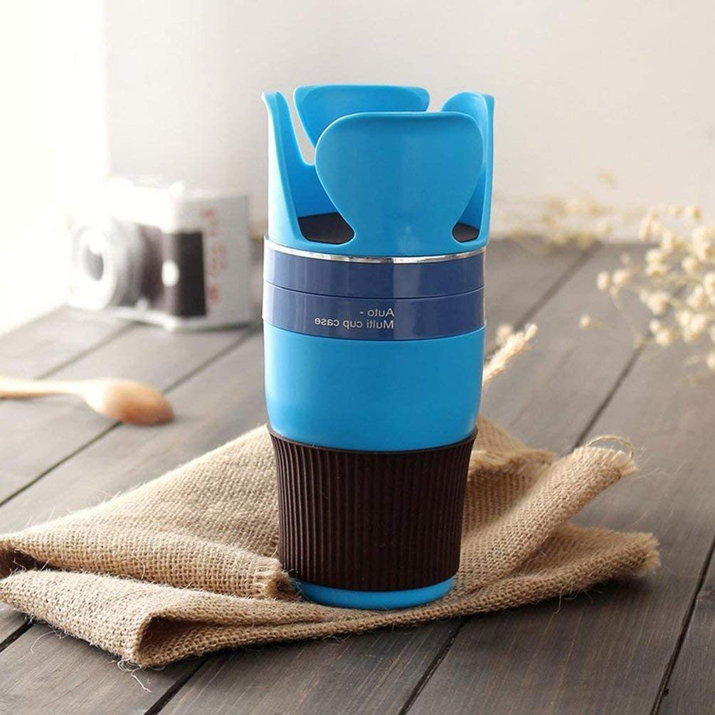 Blue Universal Multi-Function Personalized Car Cup Holder Car Car Cup Holder Rack