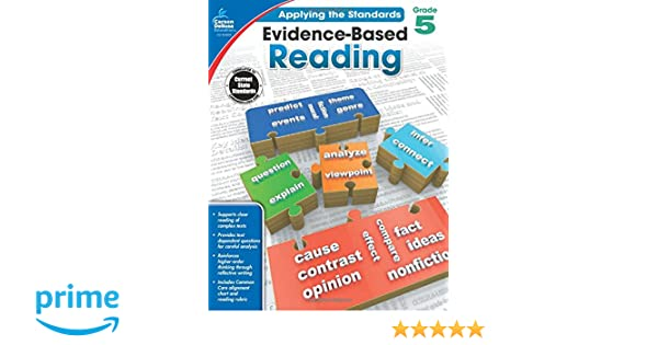 Amazon.com: Evidence-Based Reading, Grade 5 (Applying the ...
