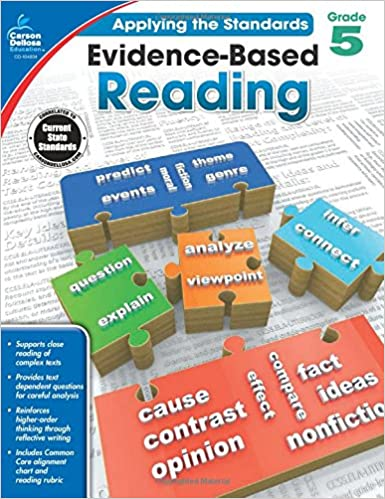 Amazon com: Evidence-Based Reading, Grade 5 (Applying the