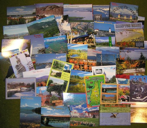 PACK OF 60 NEW SCENIC NEW HAMPSHIRE POSTCARDS