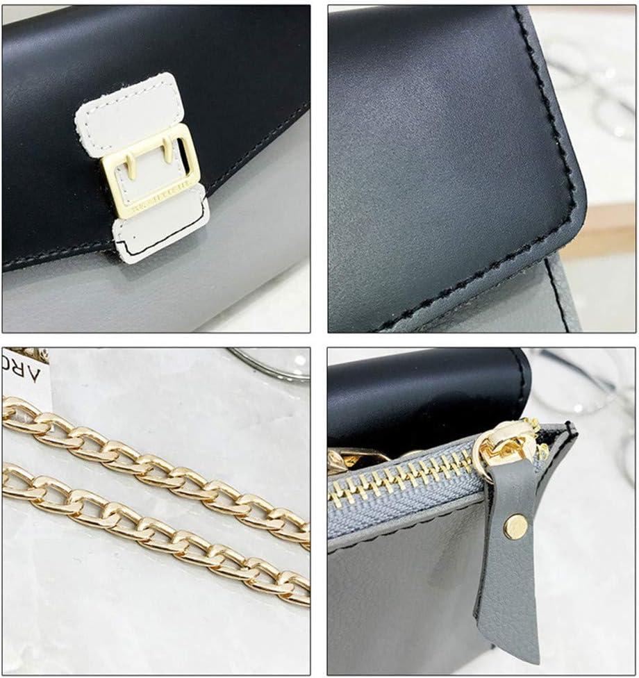 Pu Leather Girls Envelope Fashion Shoulder Package Female Crossbody Flap Design Bags Black