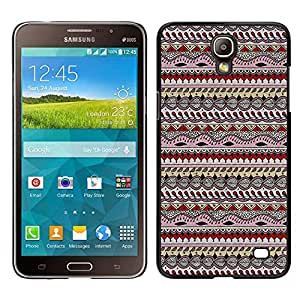 - Hipstr Nebula Aztec Tribal Pattern - - Slim Guard Armor Phone Case FOR Samsung Galaxy Mega 2 G7508 Devil Case