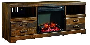 Amazon Com Ashley Furniture Signature Design Quinden Large Tv