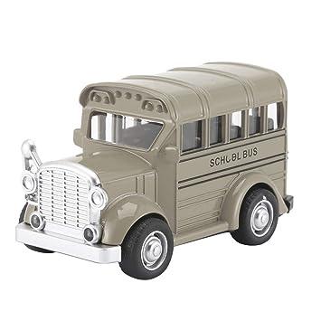 Heaviesk 1:36 Autobús Escolar Mini aleación Diecast Pull ...