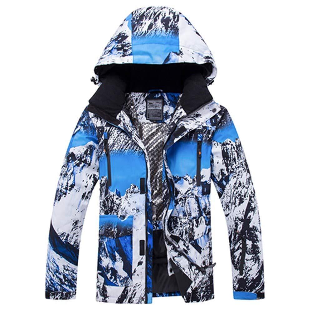8f56eeee0d ZLULU Ski Suits Winter Ski Suit Men Snow Skiing Male Clothes Outdoor Thermal  Waterproof Windproof Snowboard Jackets  Amazon.co.uk  Sports   Outdoors