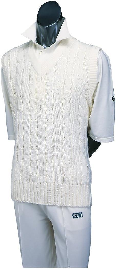 GM Cricket Cable Slipover Cream Xx-Large