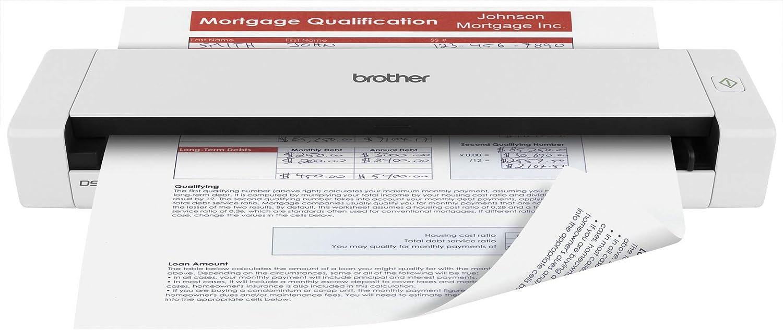 Brother DS 720 D Scanner à Défilement 600 Dots_per_inch