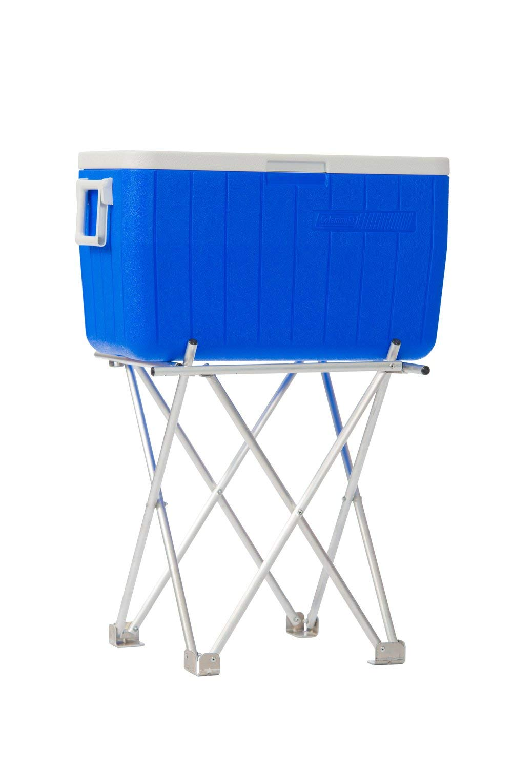 Ben-No-Mo 300 lb. Capacity, Lightweight, Collapsible, and Adjustable Stand. by Ben-No-Mo Adjustable-Collapsible cooler stand
