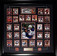 Connor McDavid Edmonton Oilers Upper Deck Rookie NHL Hockey Card Set Framed