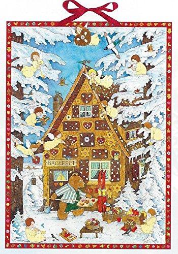 Calendario de Adviento de Adviento en el Gingerbread House ...