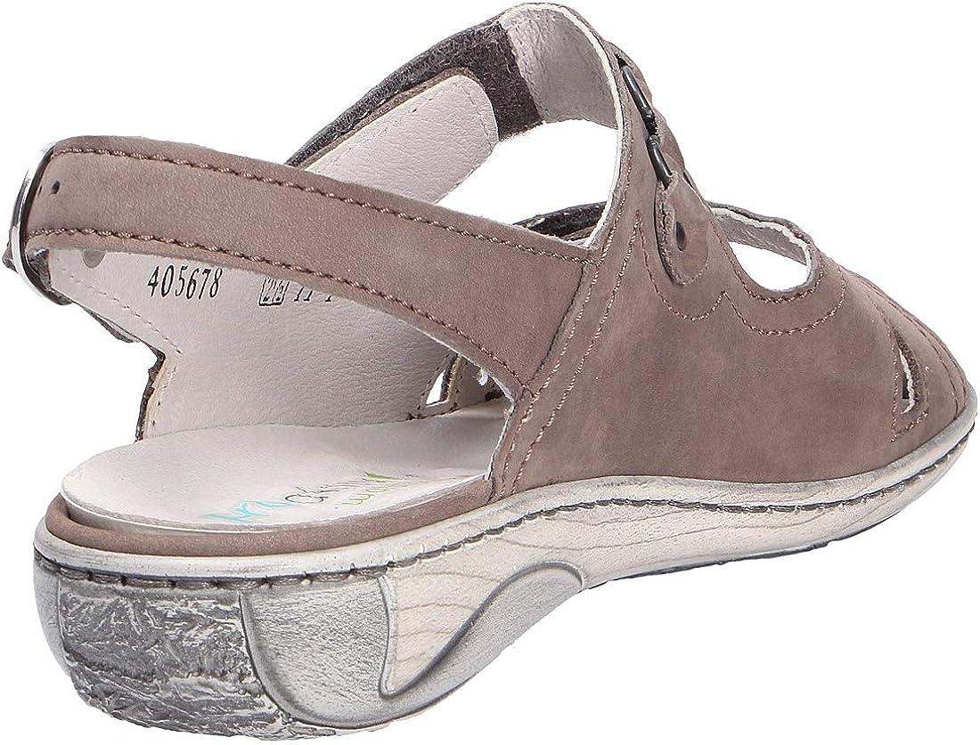 Waldläufer Women's 210004-191-088 Ankle Grey Stone Coloured