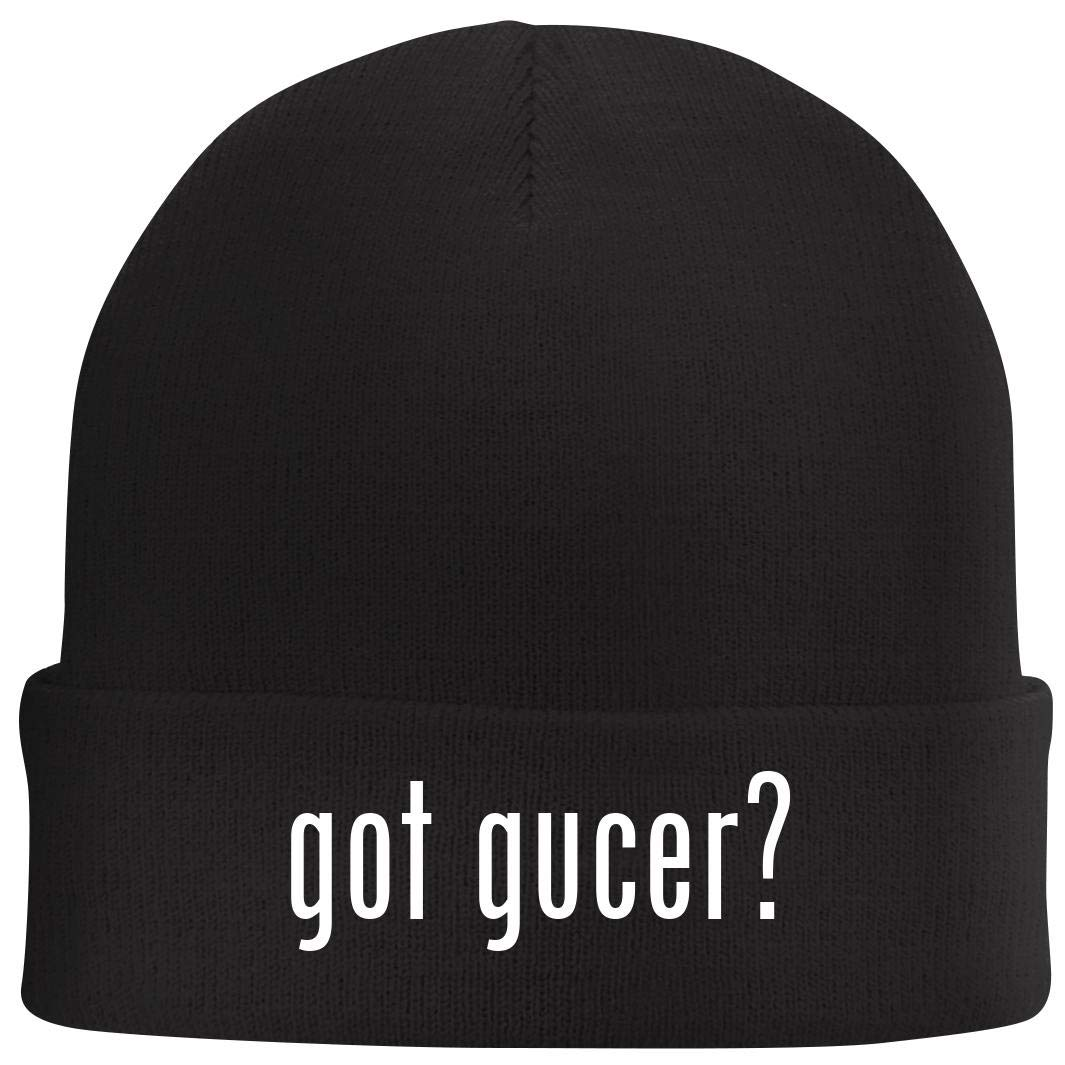 Tracy Gifts got Gucer? Beanie Skull Cap with Fleece Liner