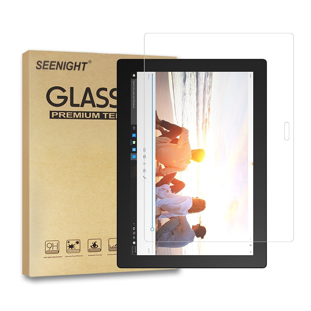 Lenovo MIIX 700 Screen Protector Glass - Premium 9H Hardness Tempered Glass Screen Protector for Lenovo Ideapad Miix700 12 inch Tablet/Laptop by SEENIGHT (Image #1)